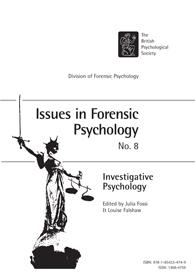 Issues in Forensic Psychology No 8 2008: Investigative Psychology cover image