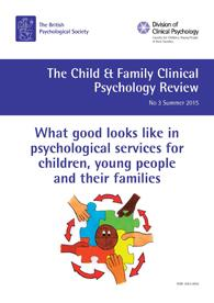 Child and Family Clinical Psychology Review No 3 Summer 2015 cover image