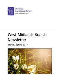West Midlands Branch Newsletter Issue 6 Spring 2017 cover image