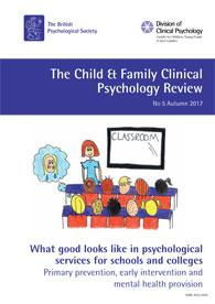 Child and Family Clinical Psychology Review No 5 Autumn 2017 cover image