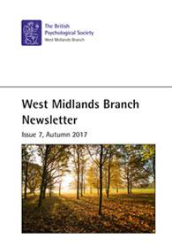 West Midlands Branch Newsletter Issue 7 Autumn 2017 cover image