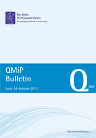 QMiP Bulletin Issue 24 Autumn 2017 cover image