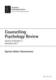 Counselling Psychology Review Vol 32 No 4 December 2017 cover image
