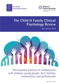 Child and Family Clinical Psychology Review No 6 Autumn 2018 cover image