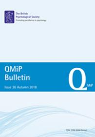 QMiP Bulletin Issue 26 Autumn 2018 cover image