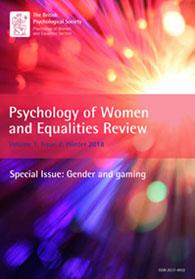 Psychology of Women and Equalities Review Vol 1.2 Winter 2018 cover image