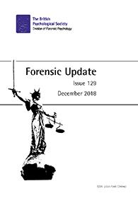 Forensic Update No 129 December 2018 cover image