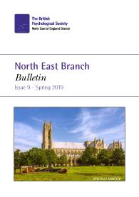NE Branch Bulletin No 9 Spring 2019 cover image
