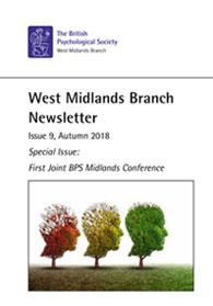 West Midlands Branch Newsletter Issue 9 Autumn 2018 cover image