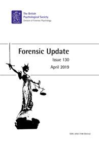 Forensic Update No 130 April 2019 cover image