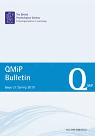 QMiP Bulletin Issue 27 Spring 2019 cover image