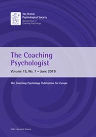 The Coaching Psychologist Vol 15 No 1 June 2019 cover image