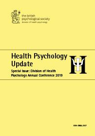 Health Psychology Update Special Issue: Division of Health Psychology Annual Conference 2019 cover image