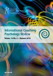 International Coaching Psychology Review Vol 14 No 2 Autumn 2019 cover image