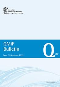 QMiP Bulletin Issue 28 Autumn 2019 cover image
