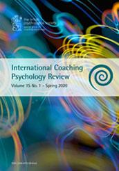 International Coaching Psychology Review Vol 15 No 1 Spring 2020 cover image