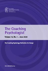 The Coaching Psychologist Vol 16 No 1 June 2020 cover image