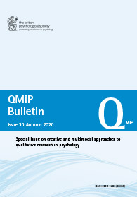QMiP Bulletin Issue 30 Autumn 2020 cover image