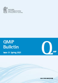 QMiP Bulletin Issue 31 Spring 2021 cover image