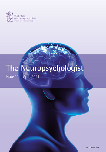 The Neuropsychologist Issue 11 – April 2021 cover image