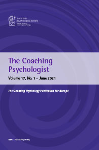 The Coaching Psychologist Vol 17 No 1 June 2021 cover image